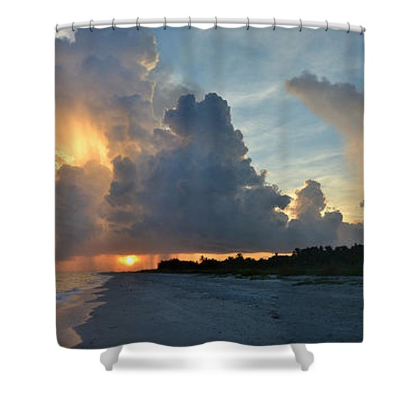Spirit Flowing Shower Curtain