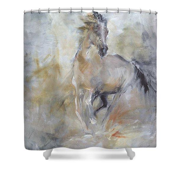 Spirit Horse Shower Curtain