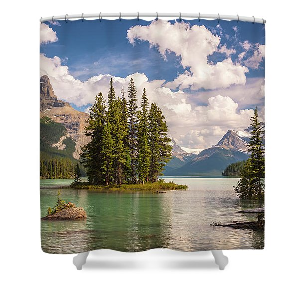 Spirit Island Shower Curtain