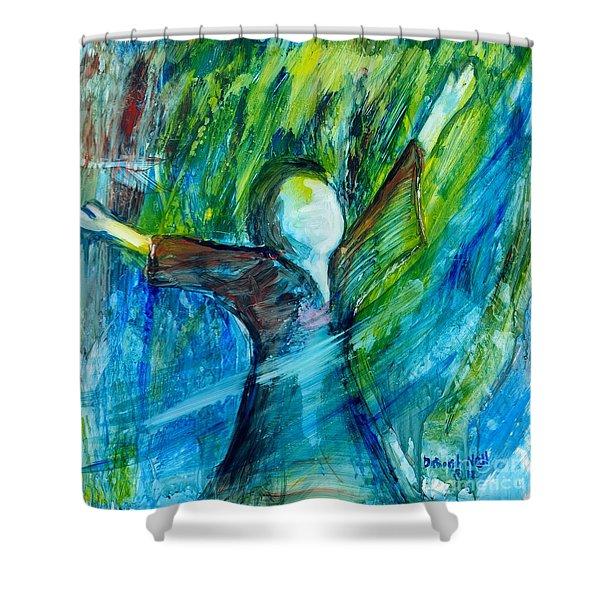Spirit Move Shower Curtain