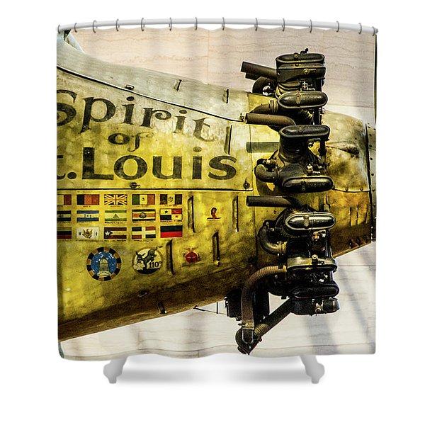 Spirit Of St Louis Shower Curtain