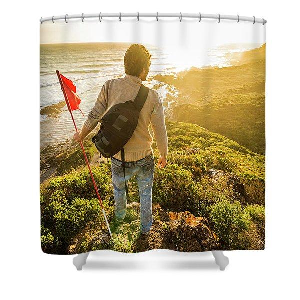 Spirit Of Tasmania Shower Curtain