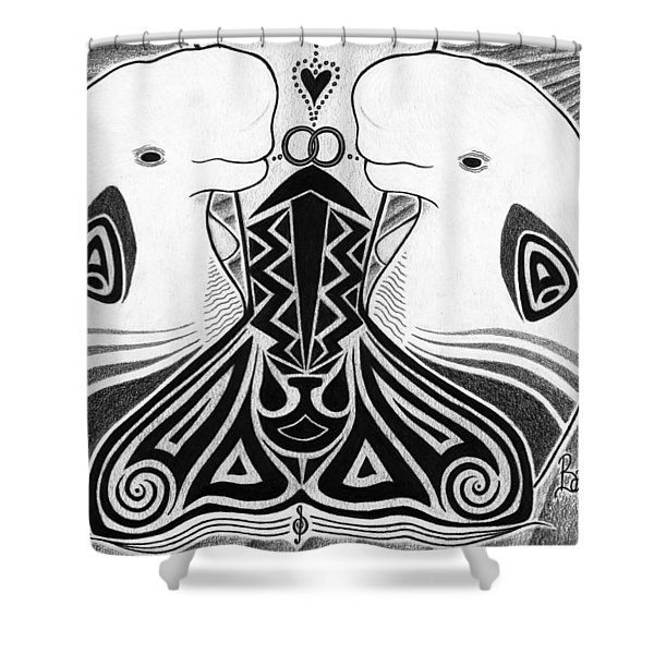 Spirit Of The Arctic Shower Curtain