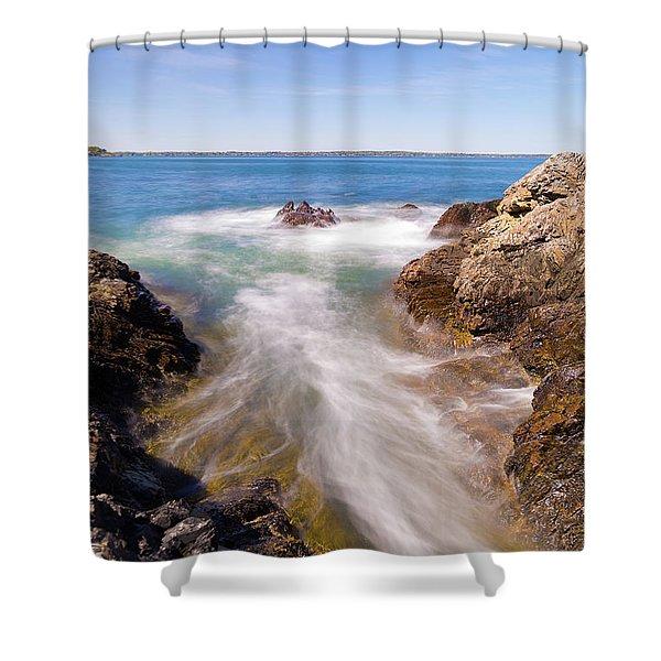 Spirit Of The Atlantic Shower Curtain