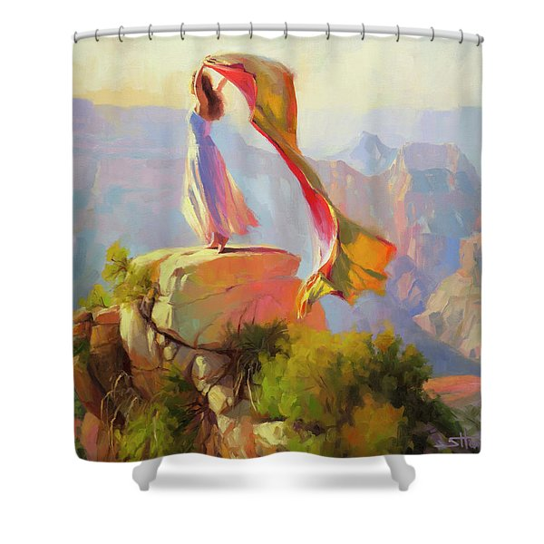 Spirit Of The Canyon Shower Curtain