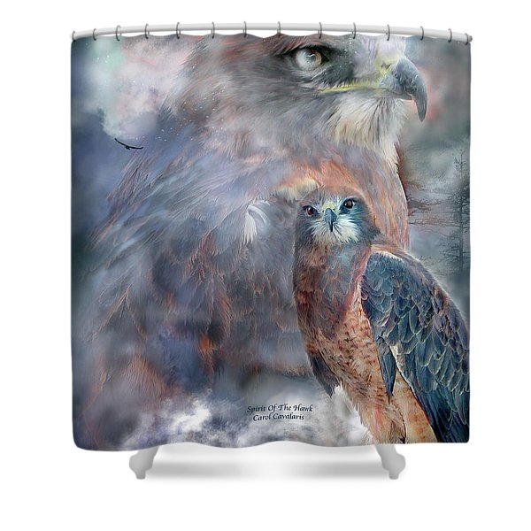 Spirit Of The Hawk Shower Curtain