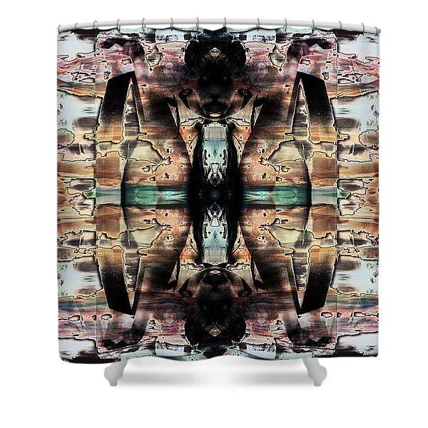 Spirits Rising 2 Shower Curtain