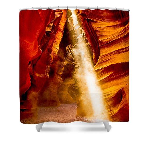 Spirit Light Shower Curtain