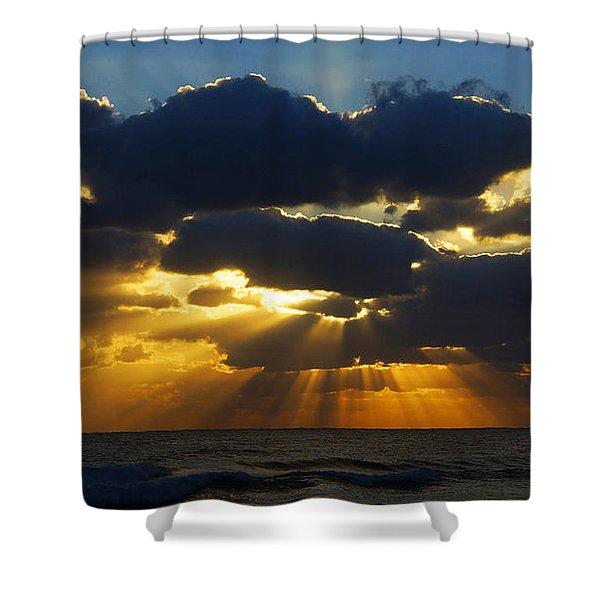 Spiritually Uplifting Sunrise Shower Curtain