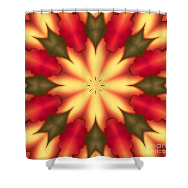 Shower Curtain featuring the digital art Spiro#4 by Writermore Arts