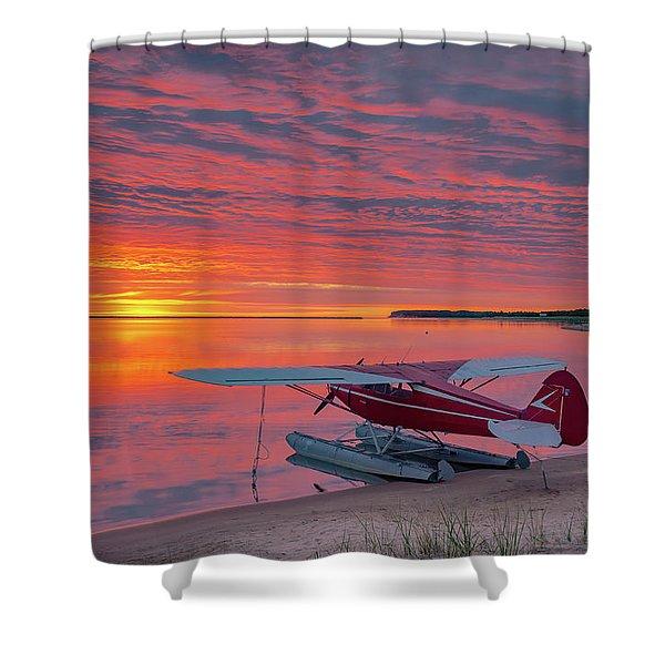 Splash-in Sunrise Shower Curtain