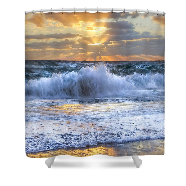 Splash Sunrise II Shower Curtain
