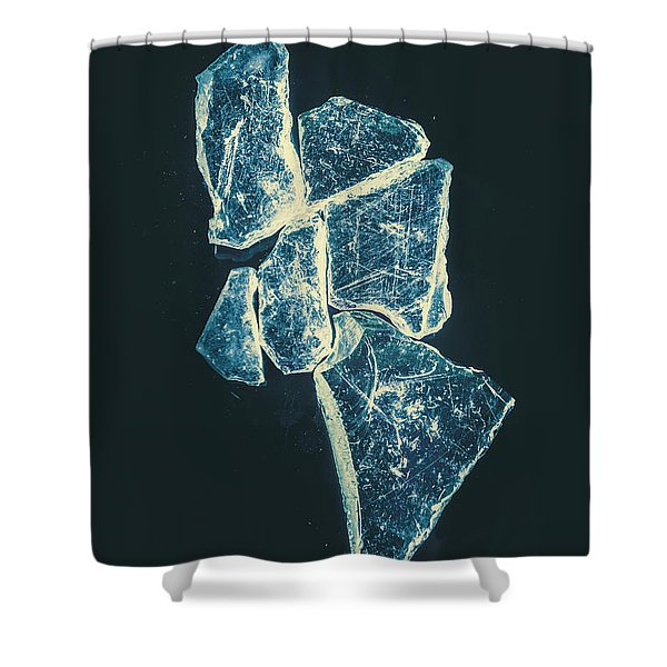 Splinters And Fractures  Shower Curtain