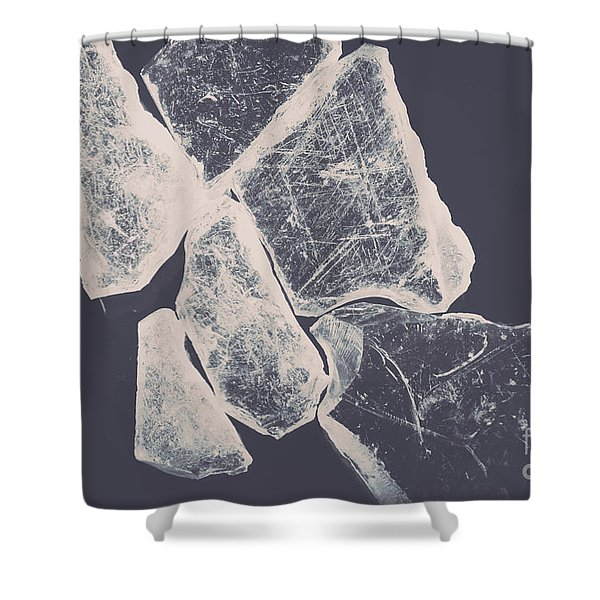 Splints Of Opacity Shower Curtain