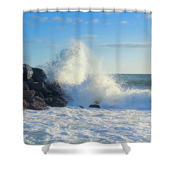 Splish Splash Shower Curtain