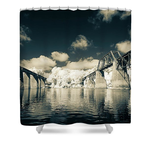 Congaree Trestles Cayce, Sc Shower Curtain