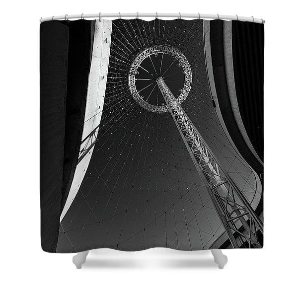 Spokane Wa Expo 1974 Pavillion Shower Curtain