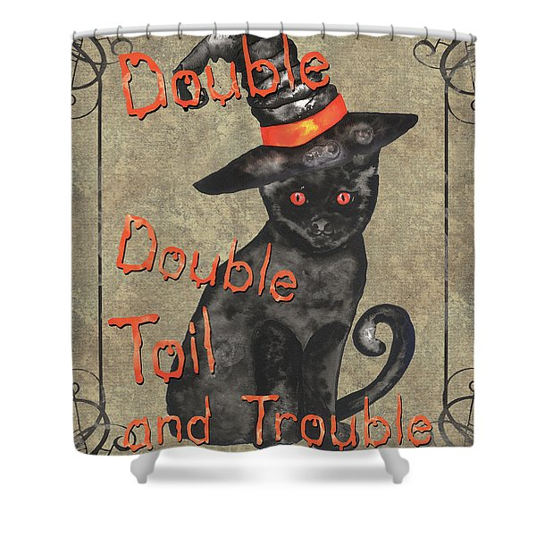 Spooky Pumpkin 3 Shower Curtain