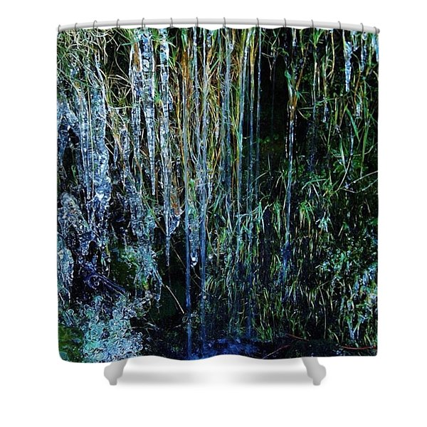 Ice Cold Shower Curtain