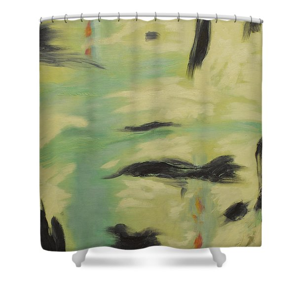 Spring  1 Shower Curtain