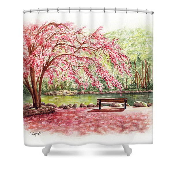 Spring At Lithia Park Shower Curtain