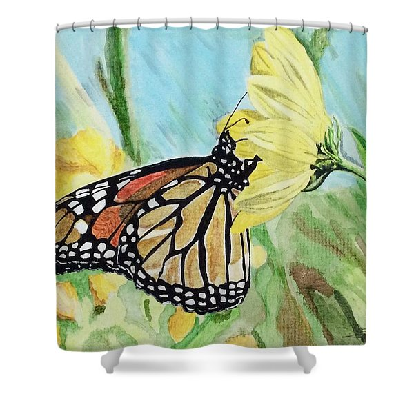 Spring Colors Shower Curtain