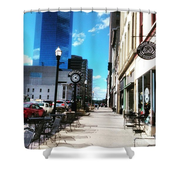 Spring Day In Downtown Lexington, Ky Shower Curtain