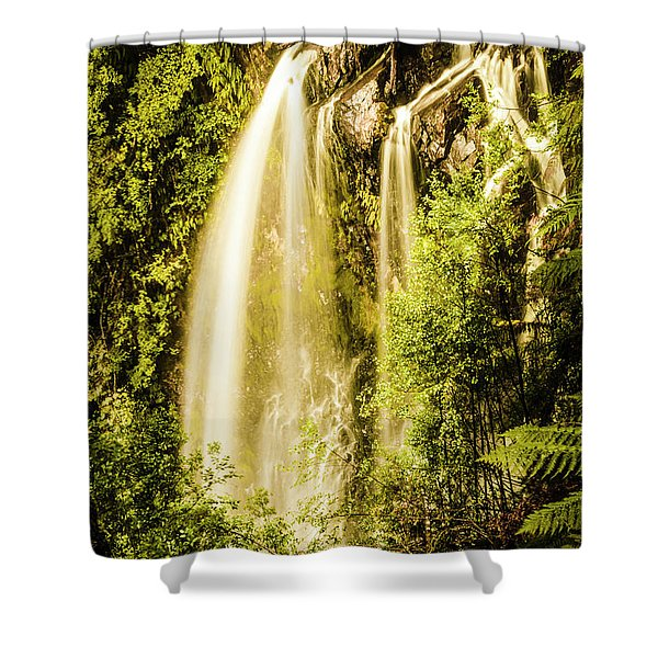 Spring Falls Shower Curtain