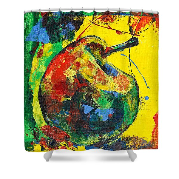 Spring Freshness With Autumn Pear Shower Curtain