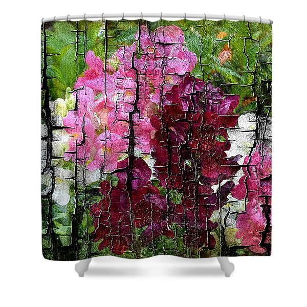 Spring Garden H131716 Shower Curtain