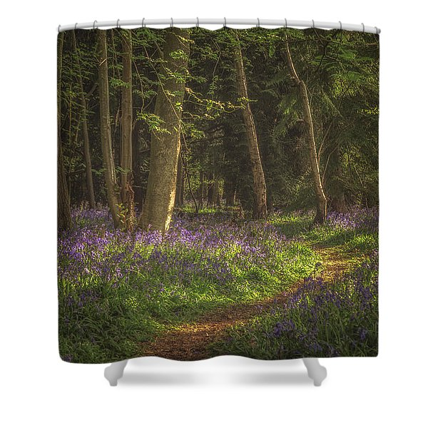 Spring In Haywood No 4 Shower Curtain