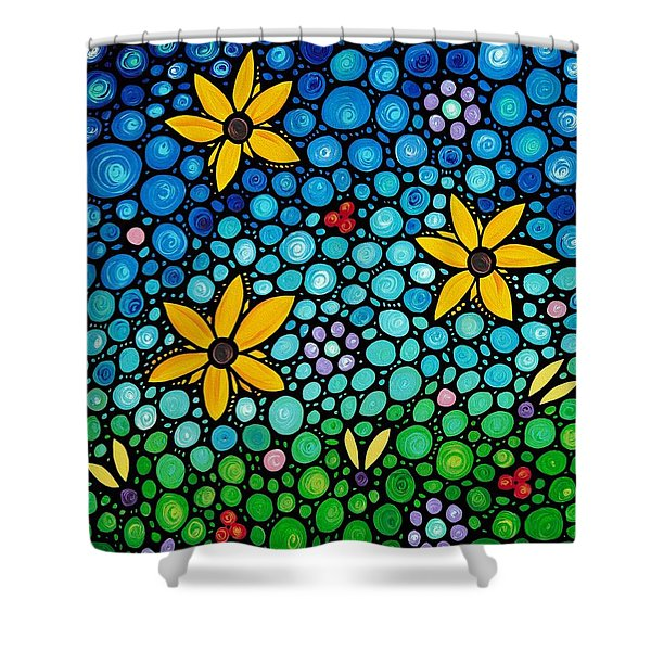 Spring Maidens Shower Curtain