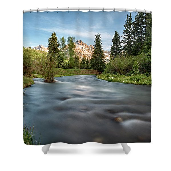 Spring Melt Shower Curtain