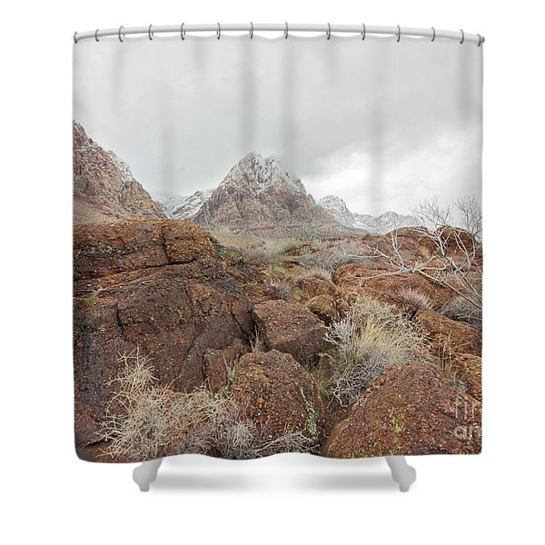 Spring Mountain Ranch Shower Curtain