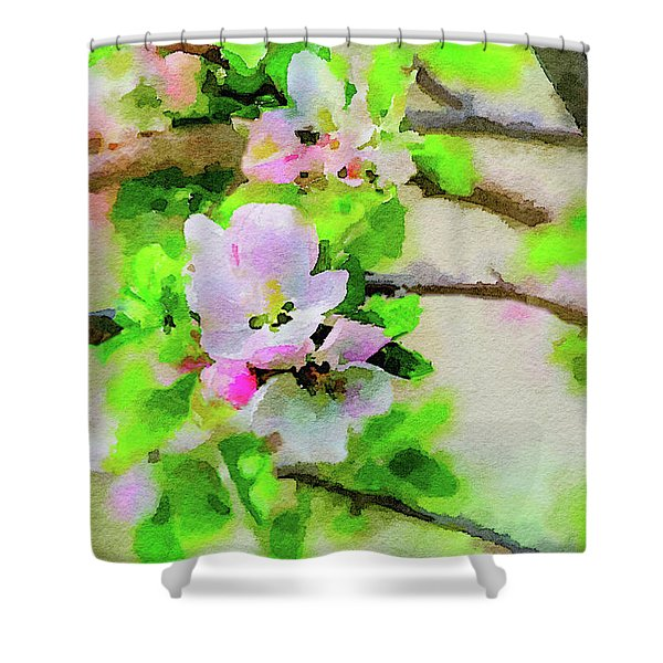 Spring On A Branch Shower Curtain