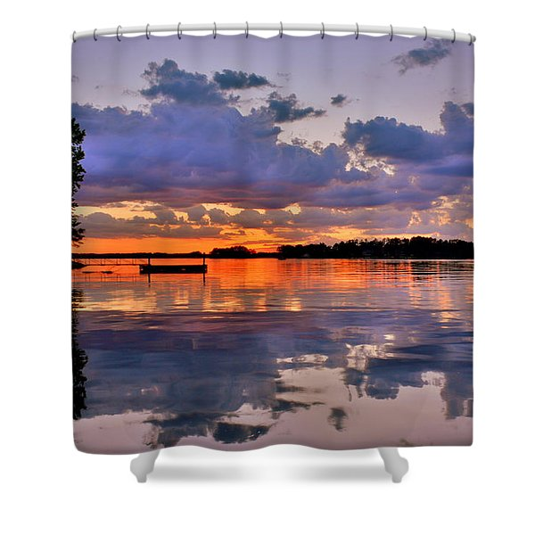 Spring Reflections Shower Curtain
