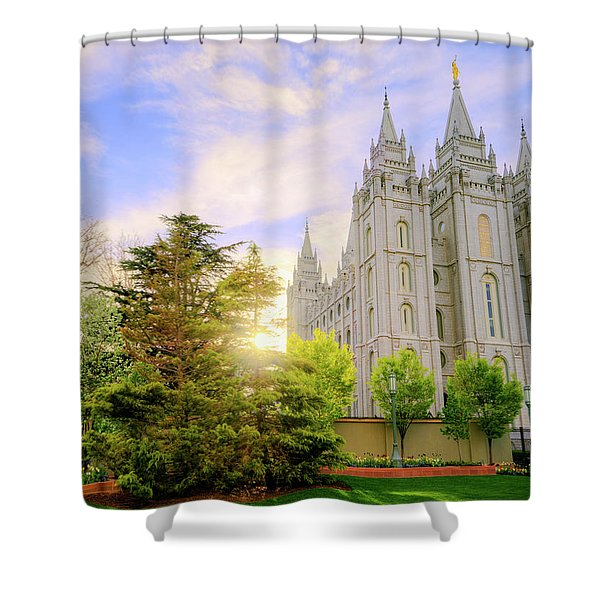 Spring Rest Shower Curtain