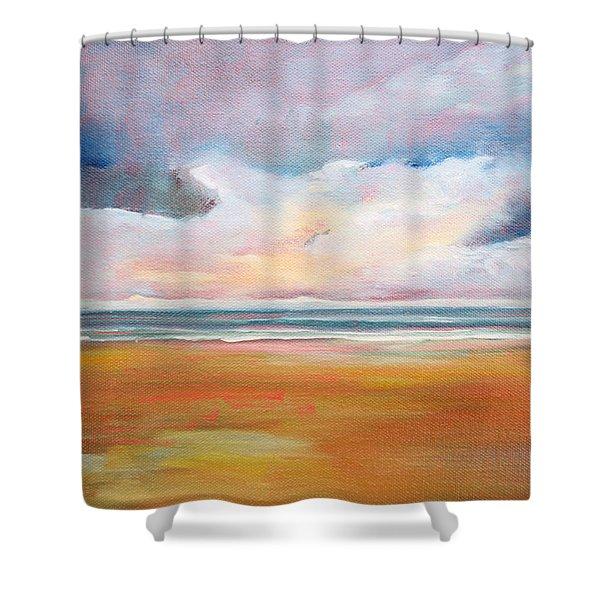 Spring Skies Shower Curtain