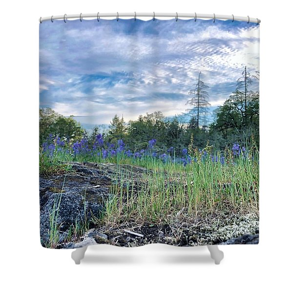 Spring Sky Shower Curtain