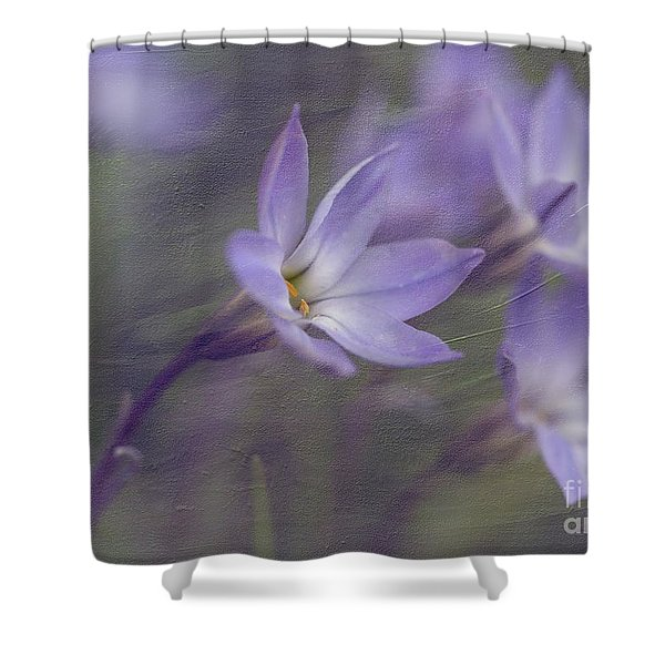 Spring Starflower Shower Curtain