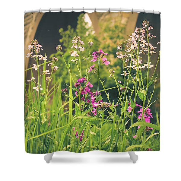 Spring Under The Arches Shower Curtain