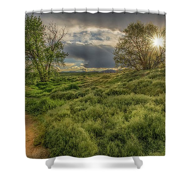 Spring Utopia Shower Curtain