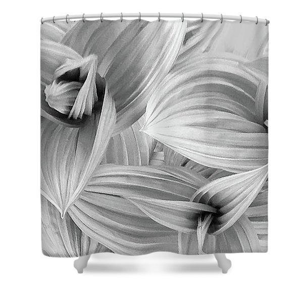 Springs Dance Of Form Shower Curtain