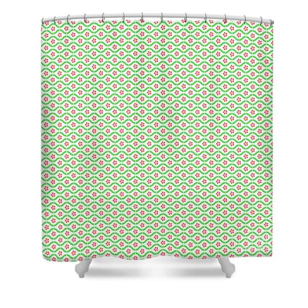 Springtime Botanicals-c Shower Curtain