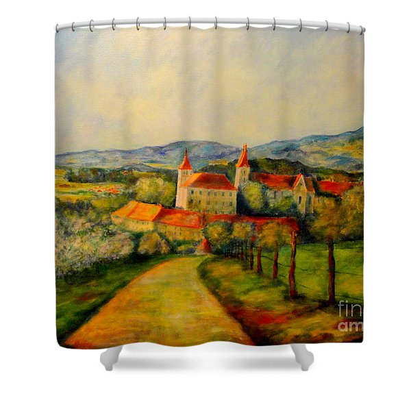 Springtime II Shower Curtain
