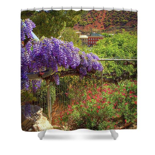 Springtime In Old Bisbee Arizona Shower Curtain