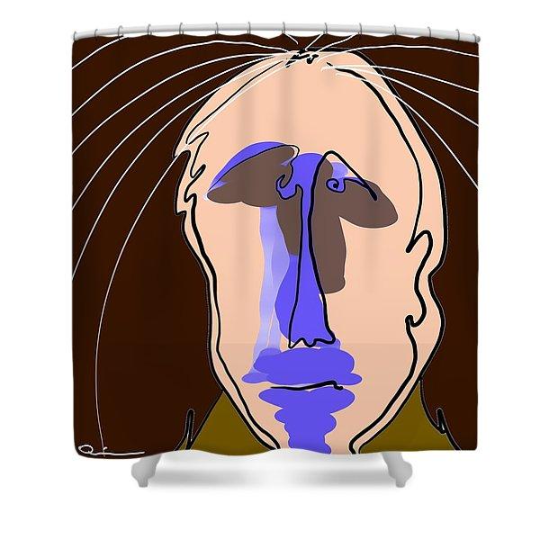Sprinkler Head Shower Curtain