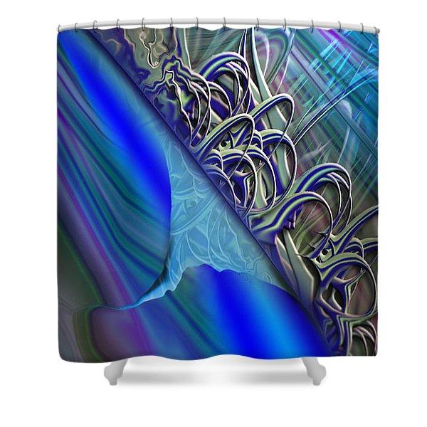 Sprinters Awl Shower Curtain
