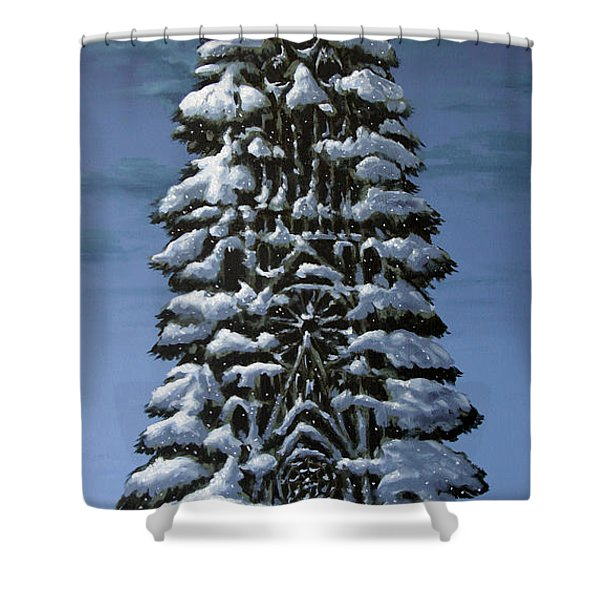 Spruce Shower Curtain