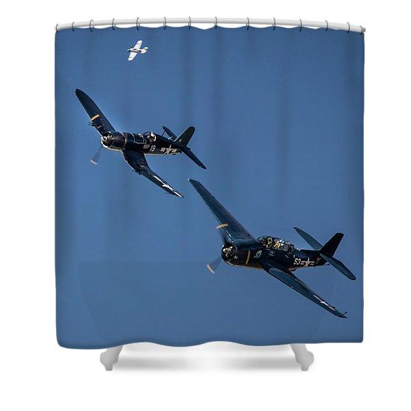 Squadron Shower Curtain